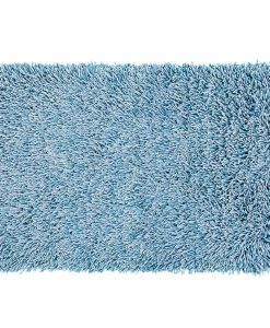 Fusilli Shag Rug Turquoise 110x170cm 1