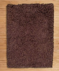 Highlander Shaggy Rug Mixed Brown 70x140cm 2
