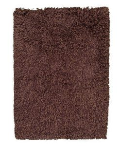 Highlander Shaggy Rug Mixed Brown 70x140cm 1
