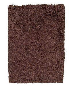 Highlander Shaggy Rug Mixed Brown 110x170cm 1