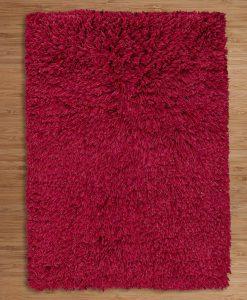 Highlander Shaggy Rug Red 110x170cm 2