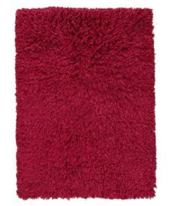Highlander Shaggy Rug Red 70x140cm 1
