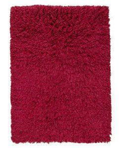 Highlander Shaggy Rug Red 110x170cm 1