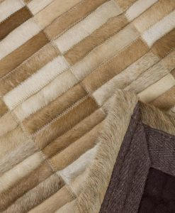 Patchwork Leather/Cowhide Rug SGP1202 120x180cm 2
