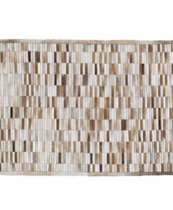 Patchwork Leather/Cowhide Rug SGP1202 120x180cm 1