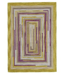 Square Spiral Loop Weave Rug DESERT LIFE 170×240 1