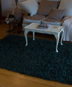 Suede Shag Rug Grape Leaf 170x110cm 1