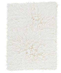 Natural Flokati Rug 2800g/m2 110 x170cm 1