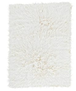 Natural Flokati Rug 2800g/m2 180cm Square 1