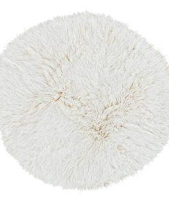 Natural Flokati Rug 1700g/m2 150cm Round 1