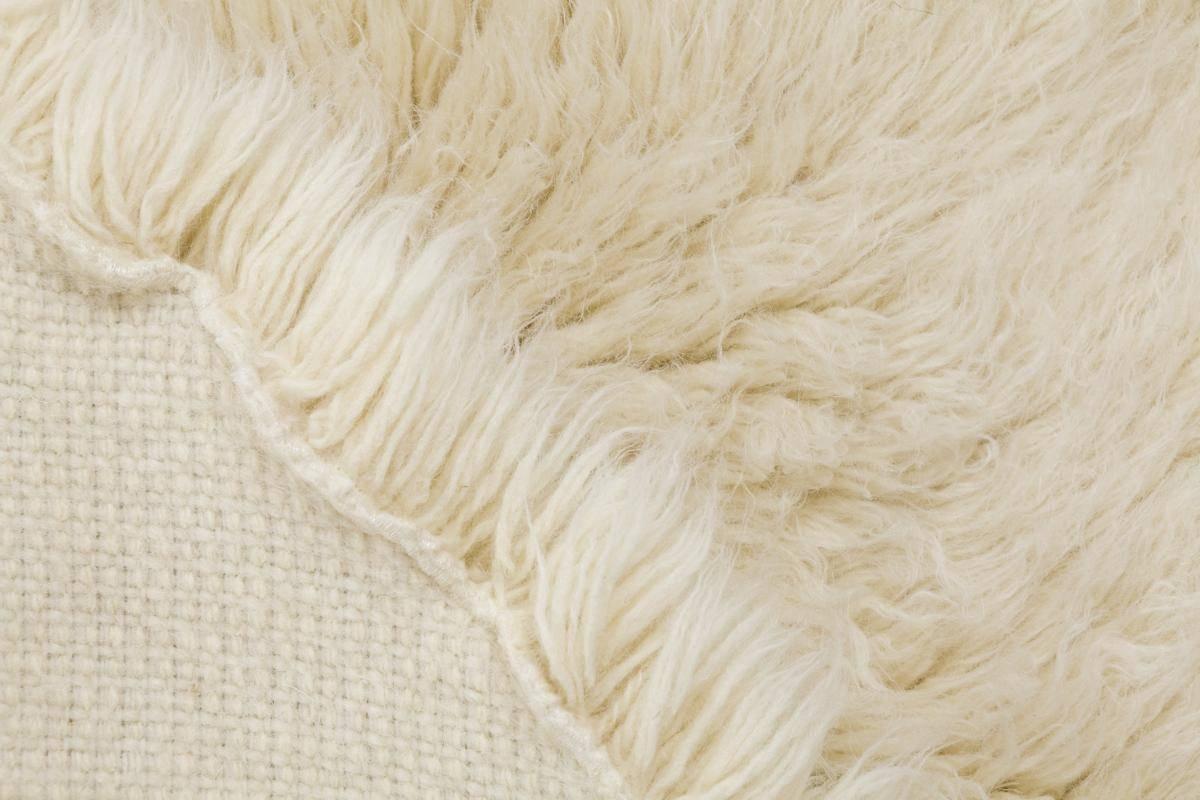 Buy Natural Flokati Rug 1700g M2 150cm Round Online The